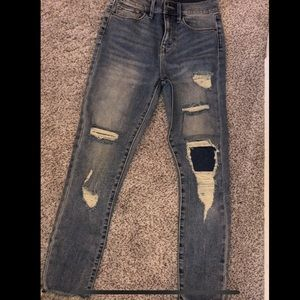 UrBan Outfitters crop high rise jeans